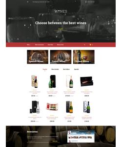 PrestaShop e-shop šablona na téma Jídlo a pití č. 58143