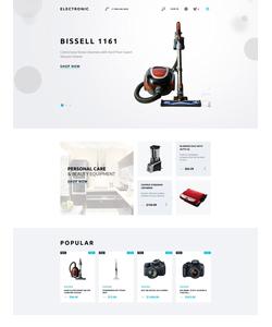 PrestaShop e-shop šablona na téma Elektronika č. 58319