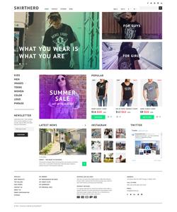 PrestaShop e-shop šablona na téma Móda č. 58380