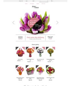 PrestaShop e-shop šablona na téma Květiny č. 58383