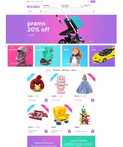 PrestaShop e-shop šablona na téma Zábava č. 58384