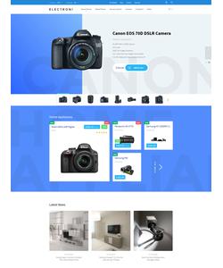 PrestaShop e-shop šablona na téma Elektronika č. 58386