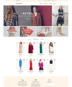 PrestaShop e-shop šablona na téma Móda č. 58397