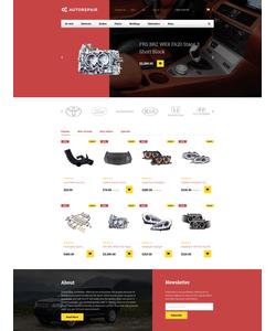 PrestaShop e-shop šablona na téma Auta č. 58410