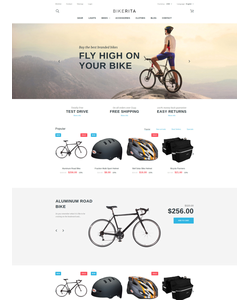 PrestaShop e-shop šablona na téma Sport č. 58647