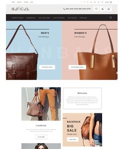 PrestaShop e-shop šablona na téma Móda č. 58928