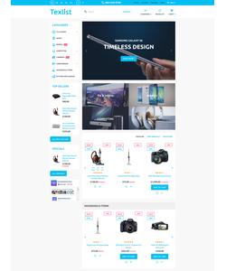 PrestaShop e-shop šablona na téma Elektronika č. 58930