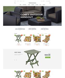 PrestaShop e-shop šablona na téma Interiér a nábytek č. 58969