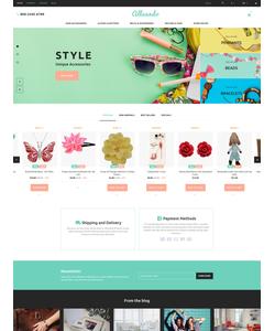 PrestaShop e-shop šablona na téma Dárky č. 60017