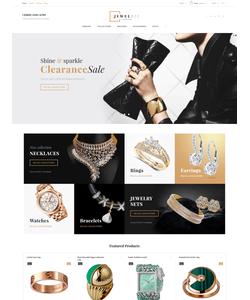 PrestaShop e-shop šablona na téma Šperky č. 61179