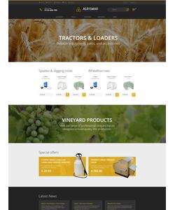 PrestaShop e-shop šablona na téma Zemědělství č. 61314