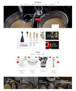 PrestaShop e-shop šablona na téma Café a restaurace č. 61353