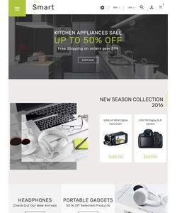 PrestaShop e-shop šablona na téma Elektronika č. 61360