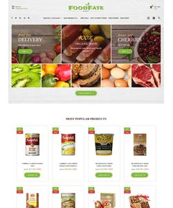PrestaShop e-shop šablona na téma Jídlo a pití č. 62178