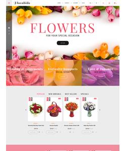 PrestaShop e-shop šablona na téma Květiny č. 62258