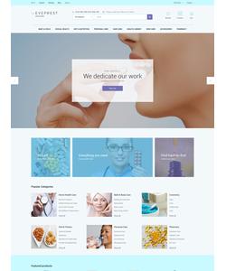 PrestaShop e-shop šablona na téma Lékařské č. 62336