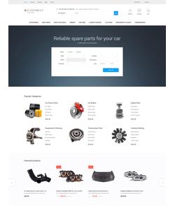 PrestaShop e-shop šablona na téma Auta č. 62342
