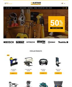 PrestaShop e-shop šablona na téma Nástroje a vybavení č. 62363
