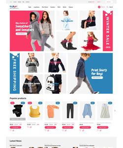 PrestaShop e-shop šablona na téma Rodina č. 62378