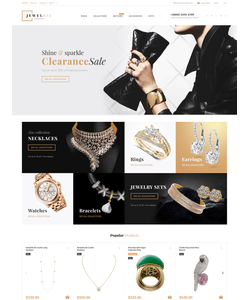 PrestaShop e-shop šablona na téma Šperky č. 62447