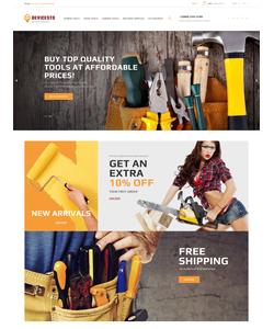 PrestaShop e-shop šablona na téma Nástroje a vybavení č. 62449