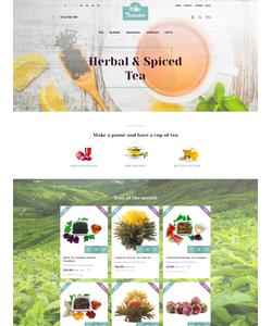 PrestaShop e-shop šablona na téma Jídlo a pití č. 63336
