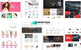 Magento e-shop šablona na téma Svatby č. 62000