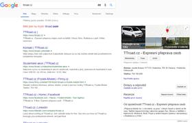 Firemní zápis - Google | WebDron.cz