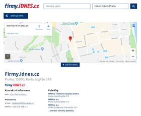 Firemní zápis - iDnes Firmy | WebDron.cz