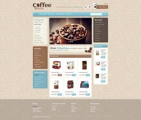 OpenCart e-shop šablona na téma Café a restaurace č. 41469