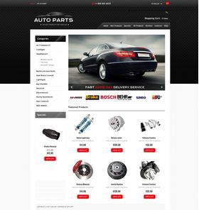 Zen Cart e-shop šablona na téma Auta č. 46688