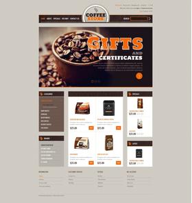 OpenCart e-shop šablona na téma Café a restaurace č. 40684