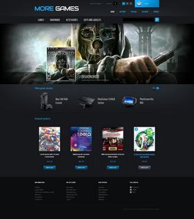 PrestaShop e-shop šablona na téma Hry č. 42665