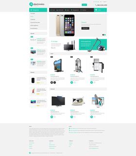 Zen Cart e-shop šablona na téma Elektronika č. 54959
