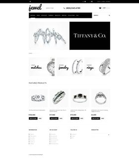 PrestaShop e-shop šablona na téma Šperky č. 47606