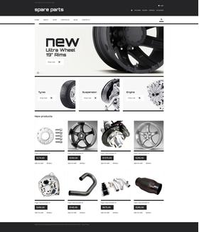 WooCommerce e-shop šablona na téma Auta č. 47530