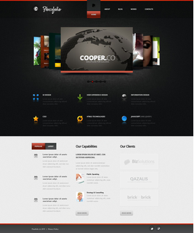 Joomla šablona na téma Web design č. 53039