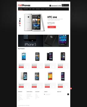 Magento e-shop šablona na téma Elektronika č. 48817