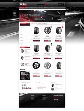 PrestaShop e-shop šablona na téma Auta č. 49054