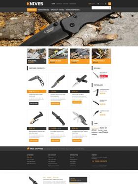PrestaShop e-shop šablona na téma Vojenské č. 45553