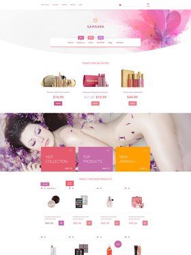 WooCommerce e-shop šablona na téma Svatby č. 53758