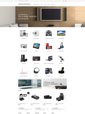 WooCommerce e-shop šablona na téma Elektronika č. 55574
