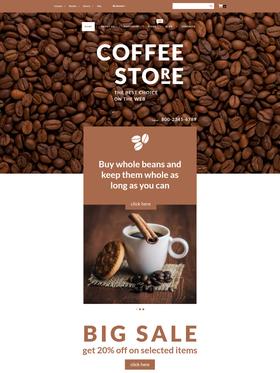 WooCommerce e-shop šablona na téma Café a restaurace č. 55691