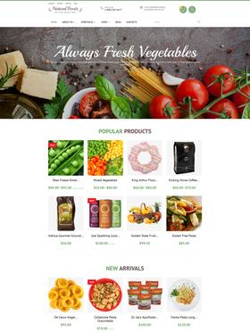 WooCommerce e-shop šablona na téma Café a restaurace č. 55738