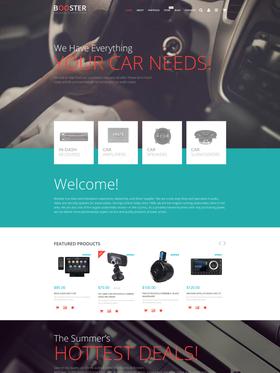 WooCommerce e-shop šablona na téma Auta č. 55744