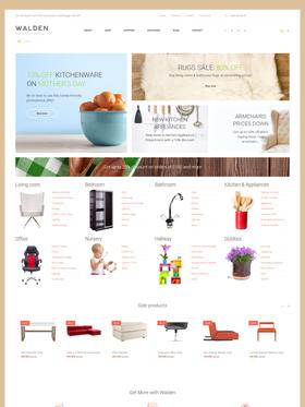 WooCommerce e-shop šablona na téma Interiér a nábytek č. 58663