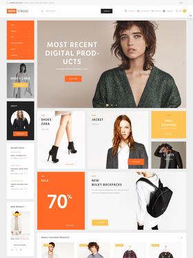 WooCommerce e-shop šablona na téma Podnikání č. 63000