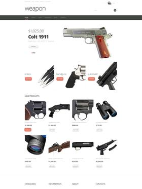 WooCommerce e-shop šablona na téma Vojenské č. 47857