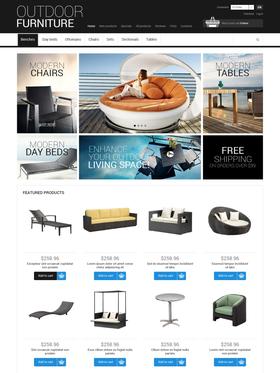 Zen Cart e-shop šablona na téma Interiér a nábytek č. 50602