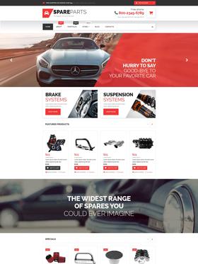 WooCommerce e-shop šablona na téma Auta č. 53307